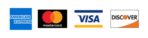 Credit card acceptance logos